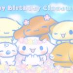大好きなシナモンへ!お誕生日おめでとう